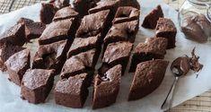 Brownies με διπλή σοκολάτα