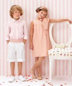 Pajem Perfeito! Garçon d'honneur - branco e rosa - blanc et rose