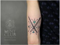 pen and pencil tattoo