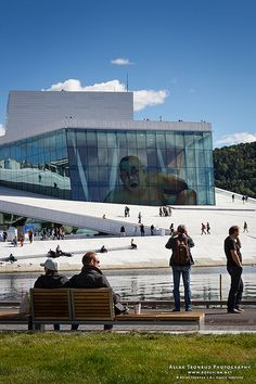 Oslo Opera House, Oslo, Norway, 2013.