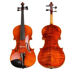 425.40$  Watch here - http://ali4l6.shopchina.info/1/go.php?t=32797225173 - High -end Hand-craft Violin 20 Years Naturally Dried Stripes Maple Professional Spirit Varnish Violino TONGLING Brand  425.40$ #magazineonlinebeautiful