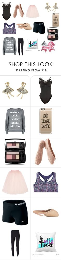 """Dance practice outfits"" by lizbiz1315 ❤ liked on Polyvore featuring Betsey…"
