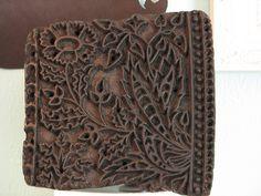 indian batik stamp by calamity kim, via Flickr
