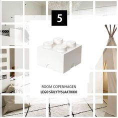 """1,022 tykkäystä, 58 kommenttia - Instakodit.fi (@instakodit) Instagramissa: """"Luukku 5 Lego säilytyslaatikko Osallistu tykkäämällä. Saa jakaa. Voittaja arvotaan 27.12.2018.…"""" Copenhagen, Lego, Room, Instagram, Legos, Peace, Bedroom"""