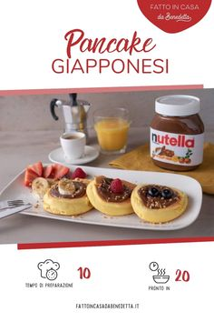 Waffles, Pancakes, Biscotti, Nutella, Recipies, Food And Drink, Breakfast, Sweet, Easy