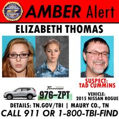 """""""It's been a week, but we're not giving up hope. Stay vigilant, stay alert, and let us know if you spot these individuals or this vehicle."""""""