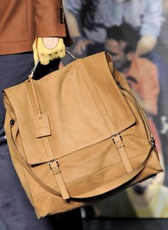 426ad935d222 Fashion   Lifestyle  Trussardi Bags Fall 2012 Menswear