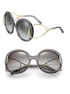 Chloé Jackson 56MM Round Sunglasses