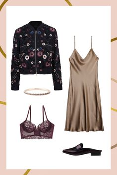 5 Holiday Trends That Are About To Be HUGE #refinery29  http://www.refinery29.com/best-holiday-party-trends-winter-2016#slide-2  Slip DressesThe slinky slip dress has been the hero in our wardrobe all year, but that doesn't mean you can't give it new life. Add an element of surprise with a lace bustier underneath, and toss in an embroidered bomber over your shoulders to kick the winter chill....