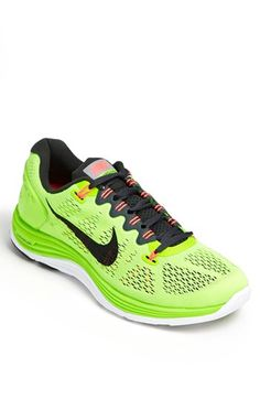 Nike 'LunarGlide+ 5' Running Shoe (Men) available at #Nordstrom. In gray.