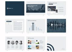 Template PowerPoint: Minimalista Profesional