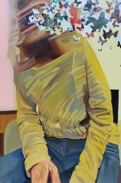 "Saatchi Art Artist Cody Lusby; Painting, ""Pale Crescent"" #art"