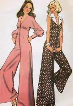 1970s Jumpsuits Pattern