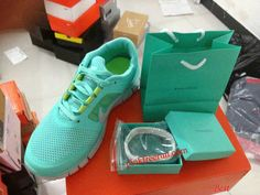Cheap Tiffany Blue Nike Free Run 3 Mens Best Tiffany CO  Bracelets(2013tiffany.com b52347aaccd