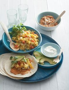 Breakfast Tacos. also other great recipes on the web site