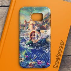 The Little Mermaid Red Hair Samsung Galaxy S6 Edge Case | casefantasy
