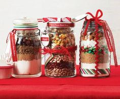 Need fresh, personal ideas for this year's gifts? Try filling jars with eye-catching creations.
