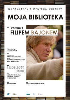 Moja biblioteka / spotkanie z Filipem Bajonem