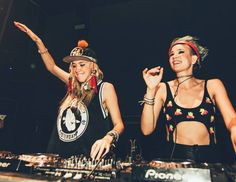 The Beautiful NERVO twins :D
