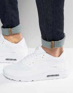 sports shoes 78ef7 3ccca Nike Air Max 90 Ultra 2.0 Trainers In White 875695-101