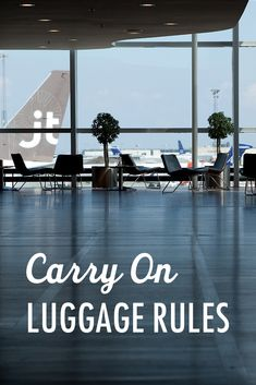 The first step to mastering carry-on-only packing is to know the rules. We're here to help you master packing light and traveling with just a carry-on. #travel #packing