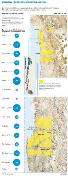 Cartografía base. Norte de Chile