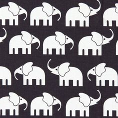 Cotton Elephant 4 - Kids Fabricsfavorable buying at our shop Fabric Animals, 4 Kids, Green Grass, Back To School, Elephant, Snoopy, Kids Rugs, Etsy, Knitting