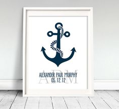 Nautical Nursery Art Print Printable by Classicology on Etsy, $7.00