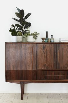 Sideboard & succulents