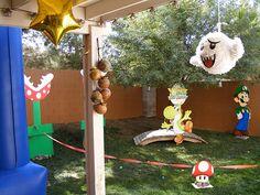 Super Mario Birthday Party by SGA Creative, via Flickr