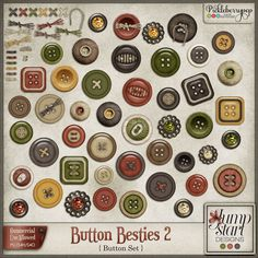 CU ~ Button Besties 2 By Jumpstart Designs