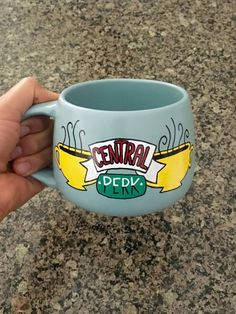 Friends the show Central Perk Mug by ohMUGgoodness on Etsy