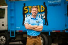 The one, the only, Casey Walsh. Owner & CEO of Stand Up Guys Junk Removal.
