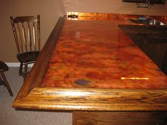 Flamed Copper Bar Top Get Copper U0026 Epoxy From This Website!