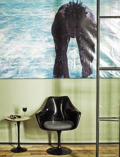 Jaime Lacasa's artistic apartment in Madrid