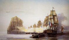 L'affaire du Rocher du Diamant (31 mai – 2 juin 1805)
