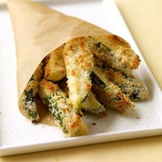 These fast-food fry knock-offs are not just tasty—they're good for you, too. Swap any summer squash for the zucchini and try different seasoning mixes. #recipe #WWLoves