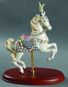 Persian Fantasy. Carousel Horse figurine.
