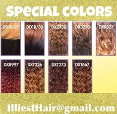 #Colors @illiesthair #upartwigs #upart #humanhair #handmade #custom #celebrityhair #illiesthair #hair #beauty #makeup