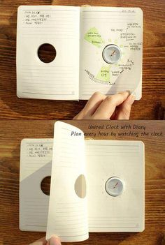 I love this idea. Could use as a planner or a diary! It could improve memory too, I'm thinking, if used as a diary. Filofax, Mind Maps, Yanko Design, Co Working, Cool Inventions, Time Management, Getting Organized, Planners, How To Plan