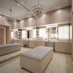 Walk In Closet Design, Bedroom Closet Design, Closet Designs, Home Room Design, Dream Home Design, Home Interior Design, Bedroom Decor, Dream House Interior, Luxury Homes Dream Houses