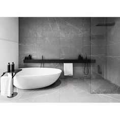 Minimal bathroom inspiration // Loving this simple design by Tamizo Architects by mancinimade