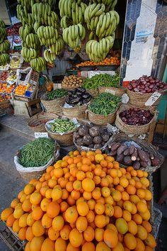 An Egyptian market