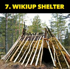 The Top Ten Survival Shelters For Wilderness Survival Scenarios - Survival Shelter, Wilderness Survival, Camping Survival, Outdoor Survival, Survival Tips, Survival Skills, Tarp Shelters, Picture Source, Emergency Preparation