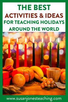 Need some fun ideas for teaching students about the winter holidays around the world? In this video, I share lots of ideas for teaching kids all about the different holidays and share holiday books, educational videos, and a free digital activity. This Seesaw activity is no prep and great to use for morning group, readers workshop or as an early finishers activity. Find Christmas activities, Hanukkah activities, Las Posadas activities, Kwanzaa activities, and Diwali activities in this video.