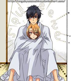 Ls24 26 Ryouma and Izumi by XxGaByUzumakixX.deviantart.com on @DeviantArt