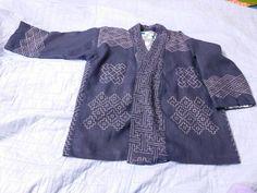 Sashiko stitching by modern Russian artisan.