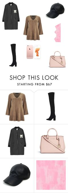 """Rose er gold"" by her-aesthetic on Polyvore featuring MINKPINK, Topshop, Chicnova Fashion, Michael Kors, Vianel and Designers Guild"