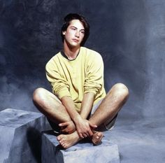 This slideshow features photos of handsome young Keanu Reeves, who first made waves in Hollywood with his performances in the 1980s films Bill and Ted's Excellent Adventures, followed by successful movies like Point Break, Speed, The Matrix film series, A Scanner Darkly, and My Own Private Idaho. H...