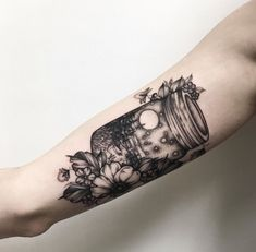 📌 firefly mason jar scenery tattoo Pretty Tattoos, Love Tattoos, Beautiful Tattoos, Body Art Tattoos, Tatoos, Forearm Tattoos, 1 Tattoo, Piercing Tattoo, Piercings
